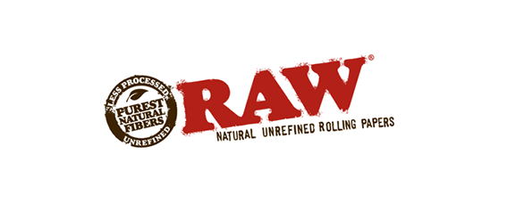 RAW logo   natural unrefined rolling papers