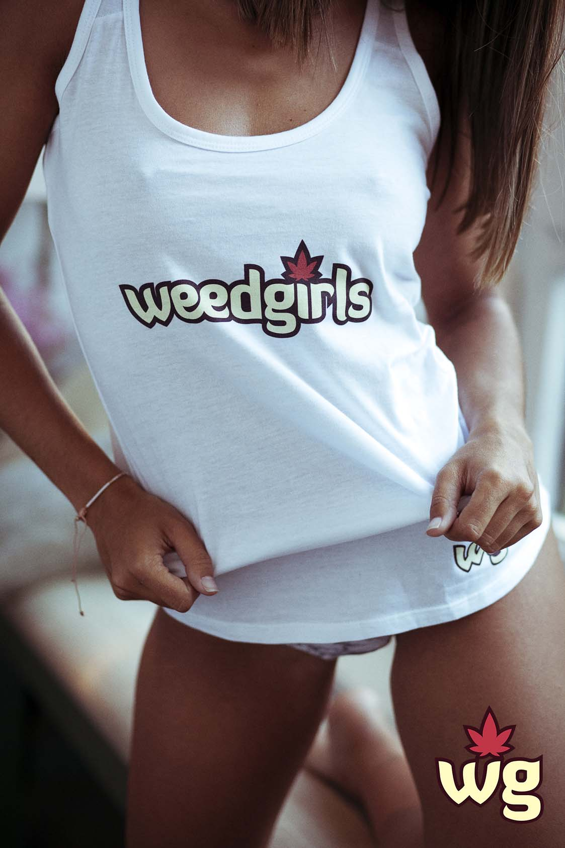 Weed Girls T Shirt