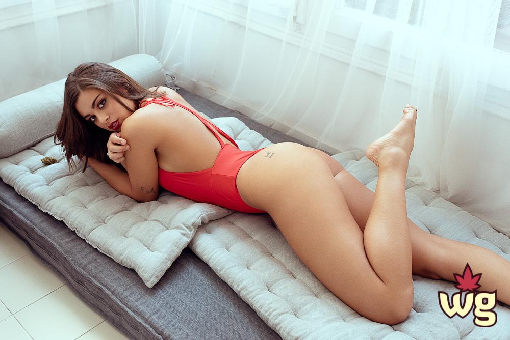 lia weed girl model