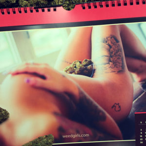 june calendar 2019 weedgirls | Weed Girls