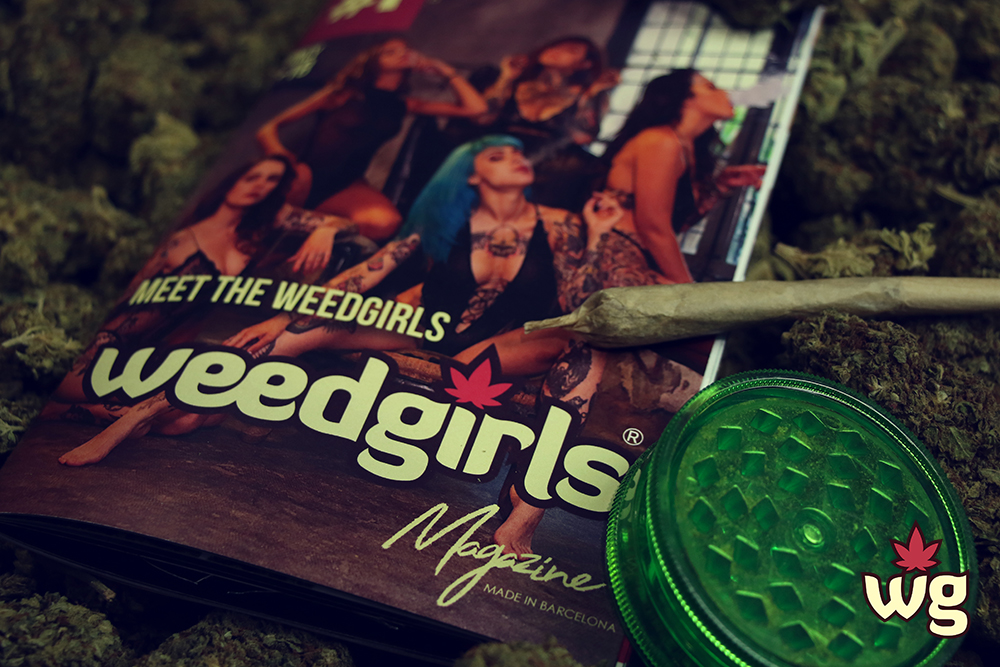 weed girls magazine cover | Weed Girls