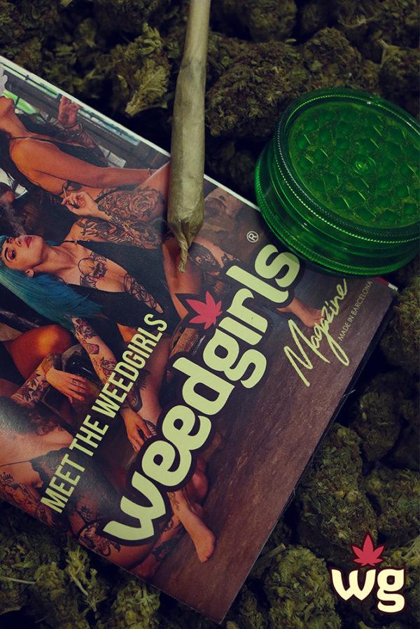revista weed girls